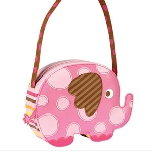 SAMANTHA by STEPHEN JOSEPH pink elephant purse